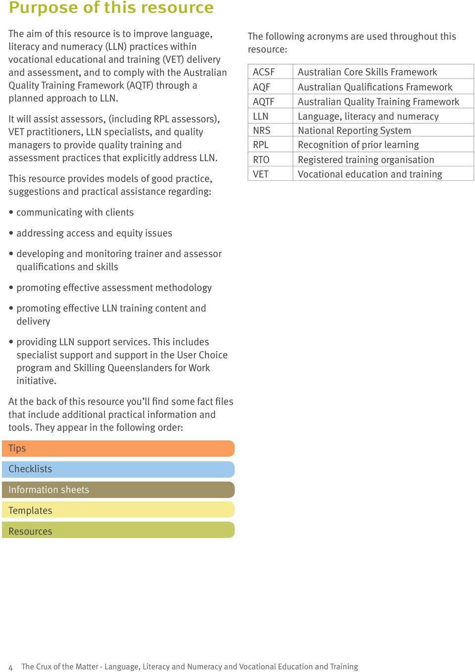 The Crux of the Matter 2011: Language, Literacy and Numeracy and ...