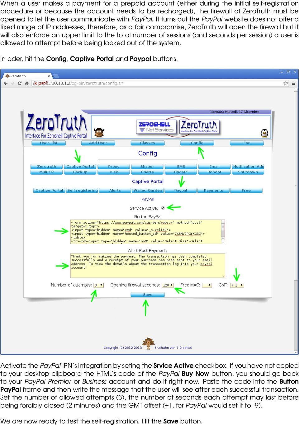 ZEROTRUTH & PAYPAL ZEROTRUTH INSTANT PAYMENT NOTIFICATION TRUTHAHN
