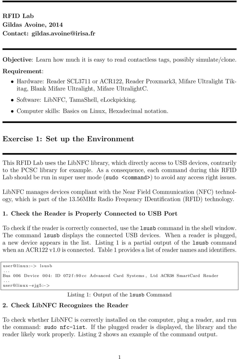 Exercise 1: Set up the Environment - PDF