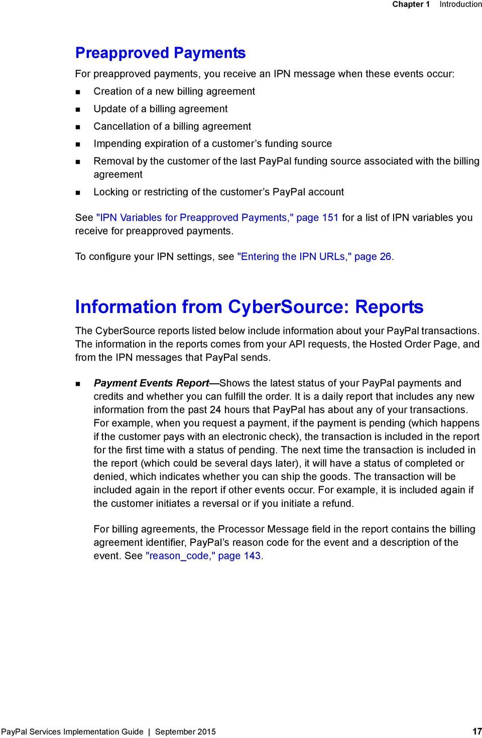 Cybersource Paypal Services Implementation Guide Pdf