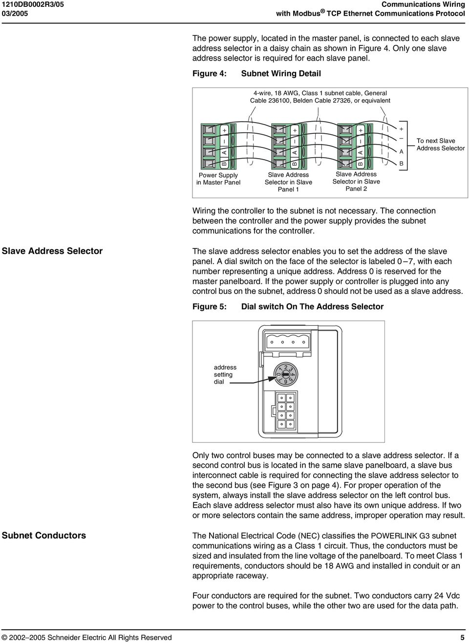 data bulletin communications wiring for powerlink g3 systems class rh docplayer net