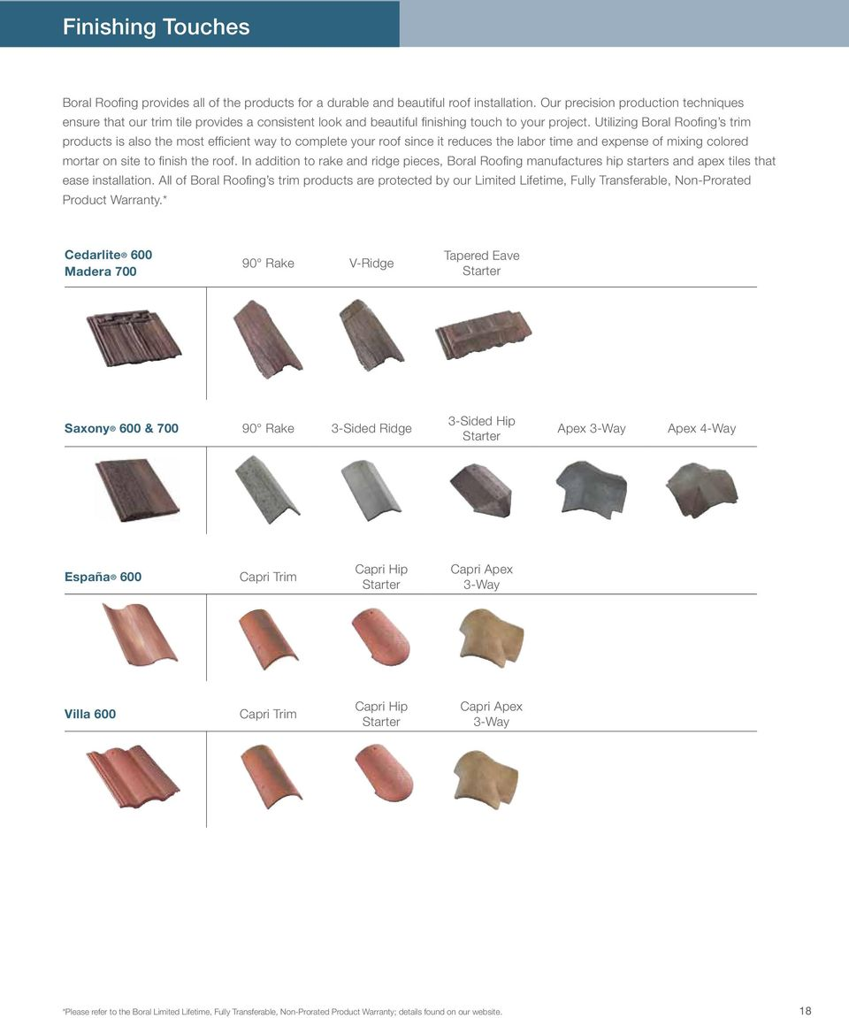 Boral Roofing Build Something Great Concrete Roof Tiles Lightweight Collection Pdf Free Download
