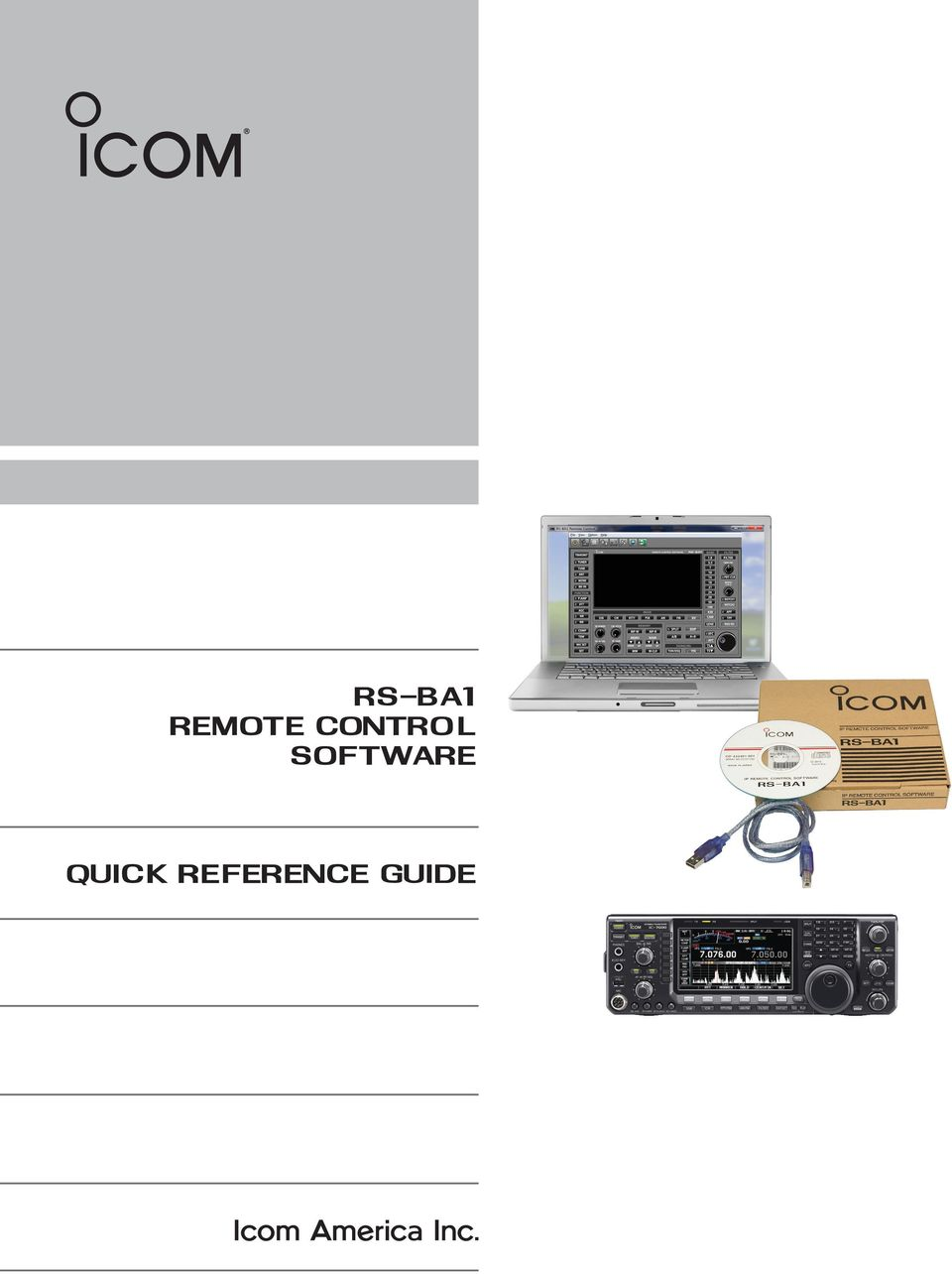 rs-ba1 remote control software quick reference guide - PDF