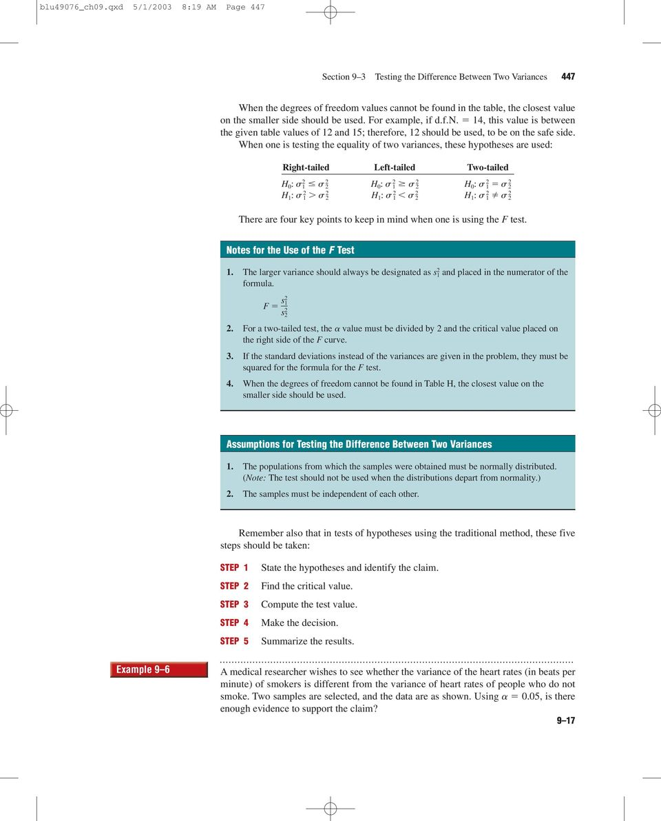 9 Testing the Difference - PDF