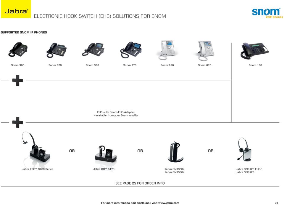 electronic hook switch (ehs) solutions - PDF