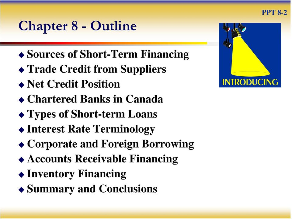 Short-term Loans Interest Rate Terminology Corporate and Foreign
