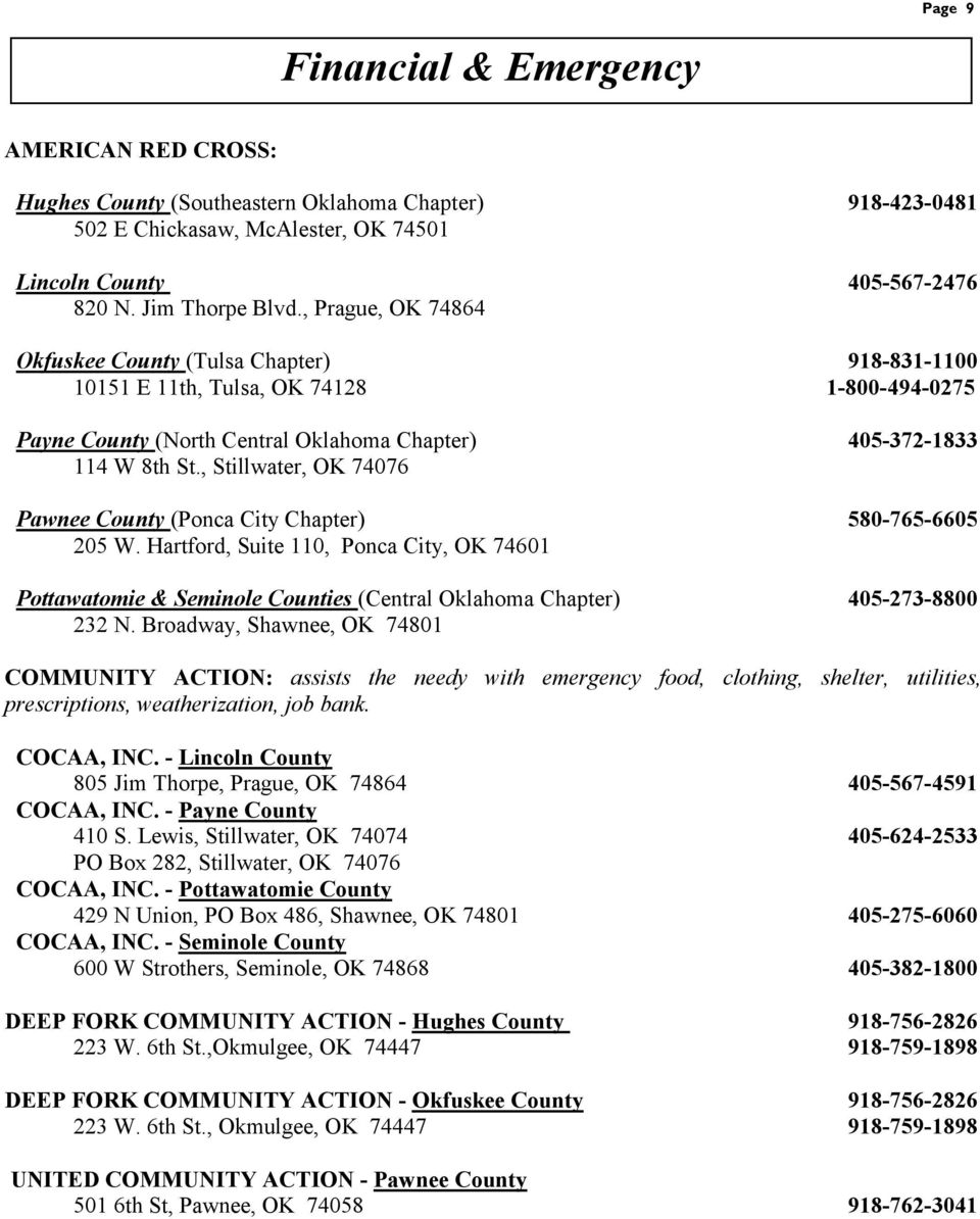 OKLAHOMA AREA AGENCIES ON AGING - PDF