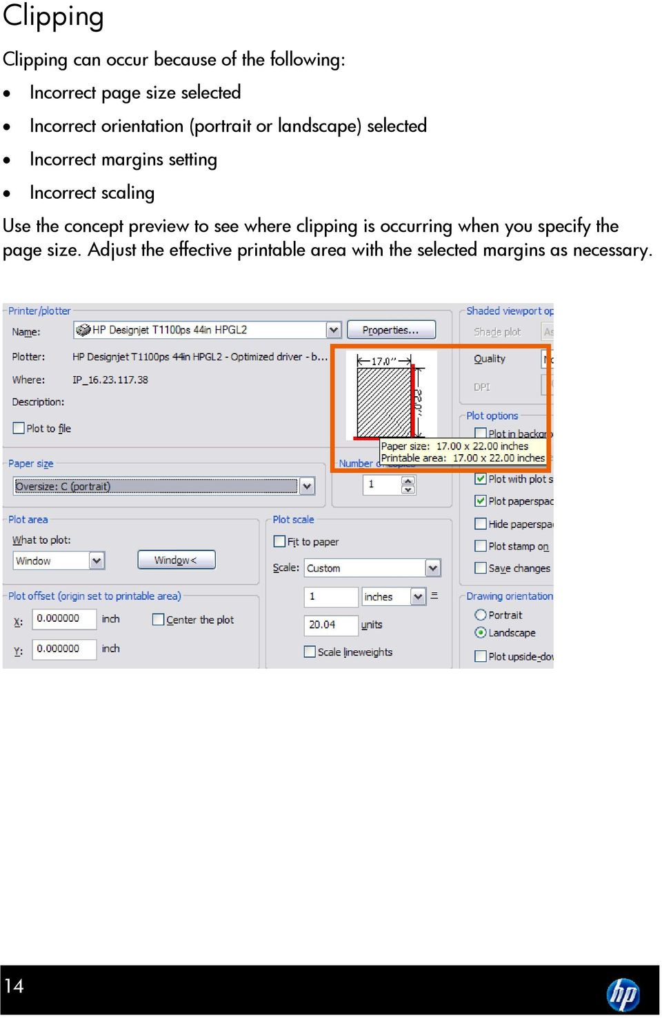 Tips & Tricks Using HP Designjet Printers with AutoCAD