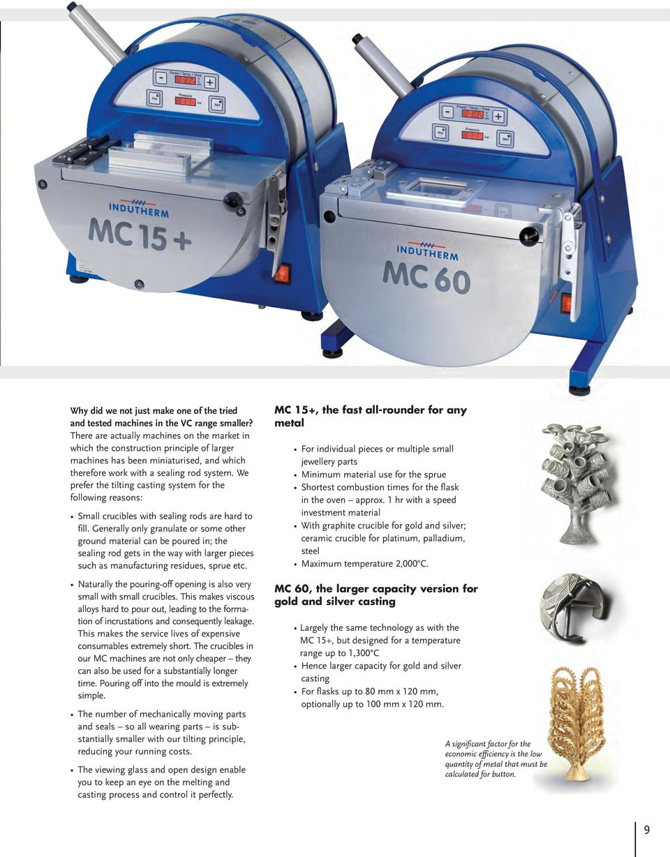 Blue Power Top Class Casting Technology Pdf Computer Programcontrolled Circuit Board Recycling Equipment We Prefer The Tilting System For Following Reasons Small Crucibles With Sealing Rods