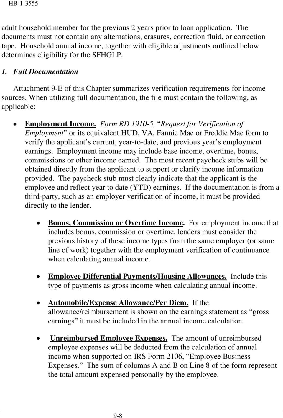 Chapter 9 Income Analysis 7 Cfr Pdf