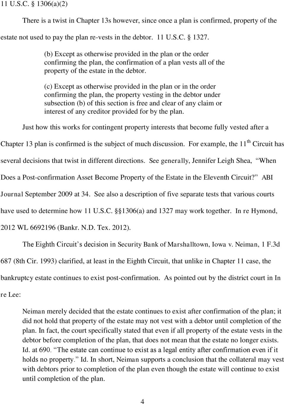 CONTINGENT PROPERTY INTERESTS IN BANKRUPTCY - PDF