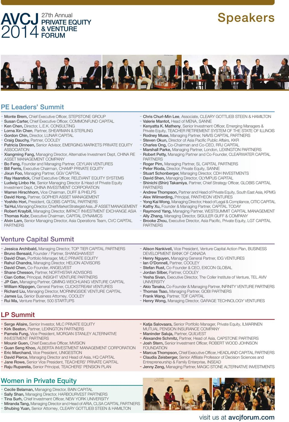 Asian Private Equity & Venture Capital Awards Dinner and