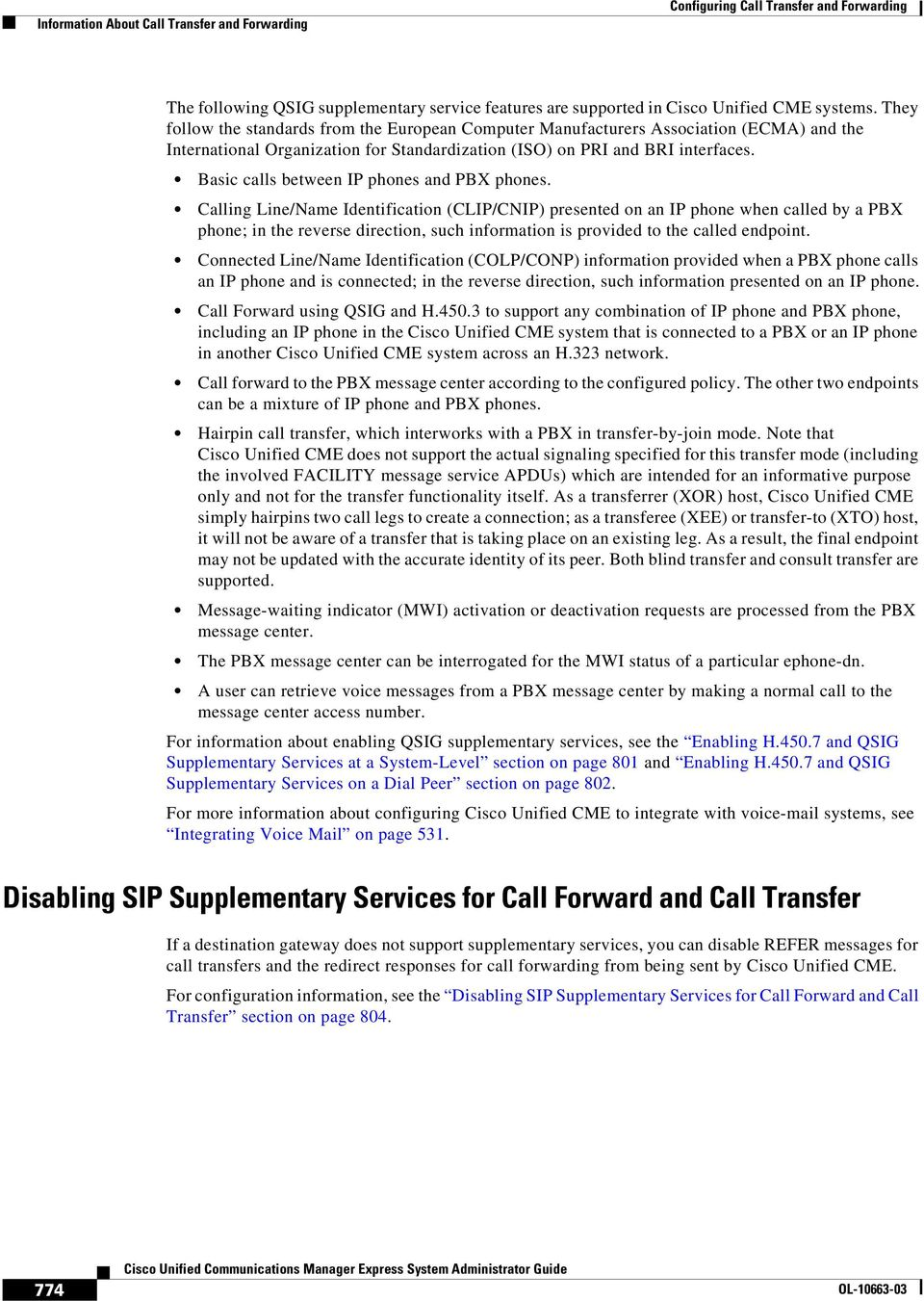 Configuring Call Transfer and Forwarding - PDF