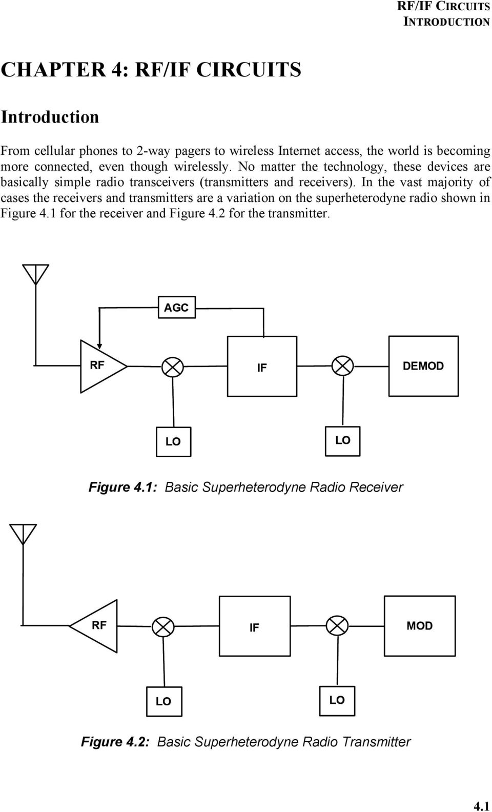 Chapter 4 rfif circuits pdf in the vast majority of cases the receivers and transmitters are a variation on the superheterodyne publicscrutiny Gallery