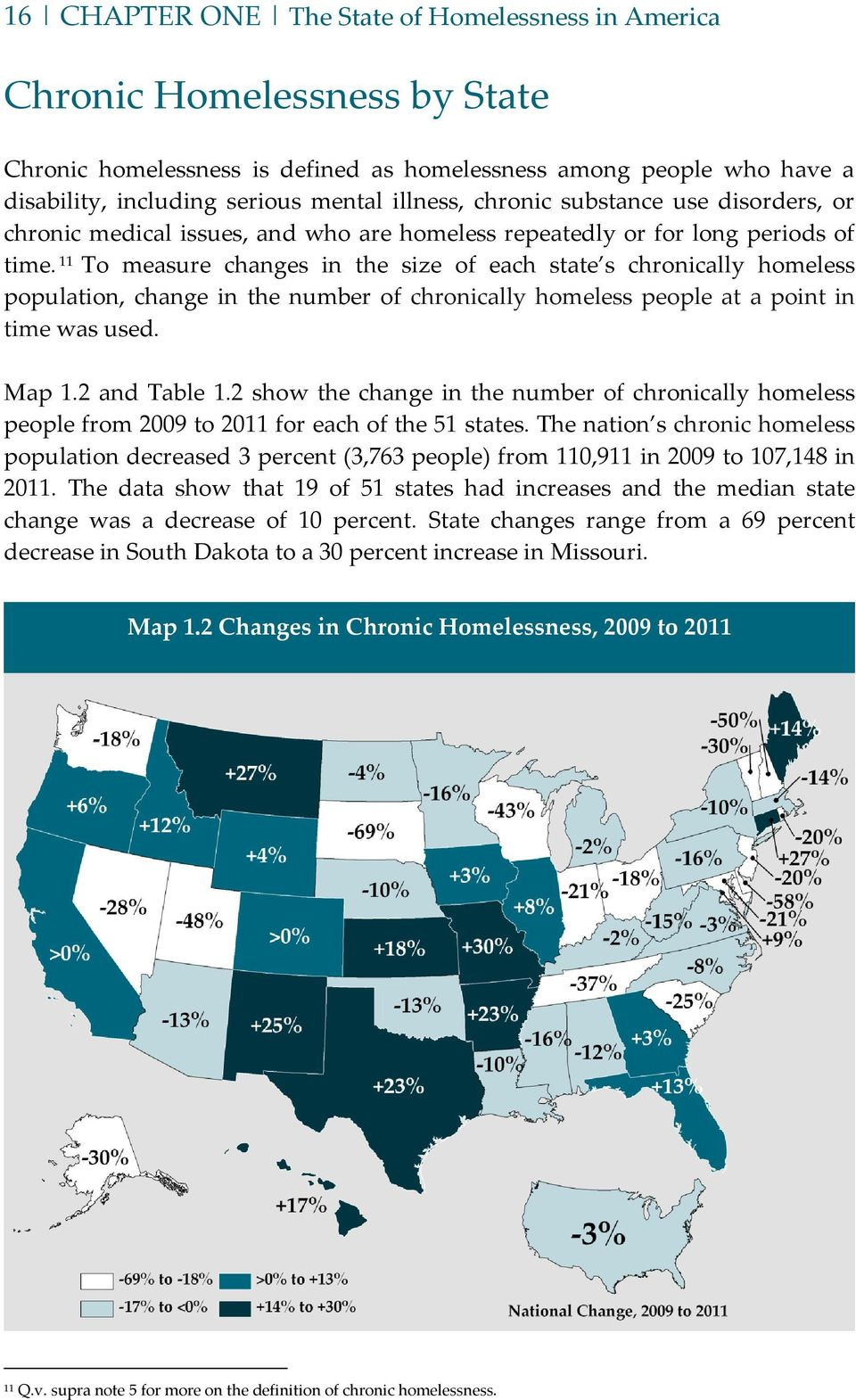 THE STATE OF HOMELESSNESS - PDF