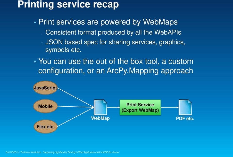 Supporting High-Quality Printing in Web Applications with