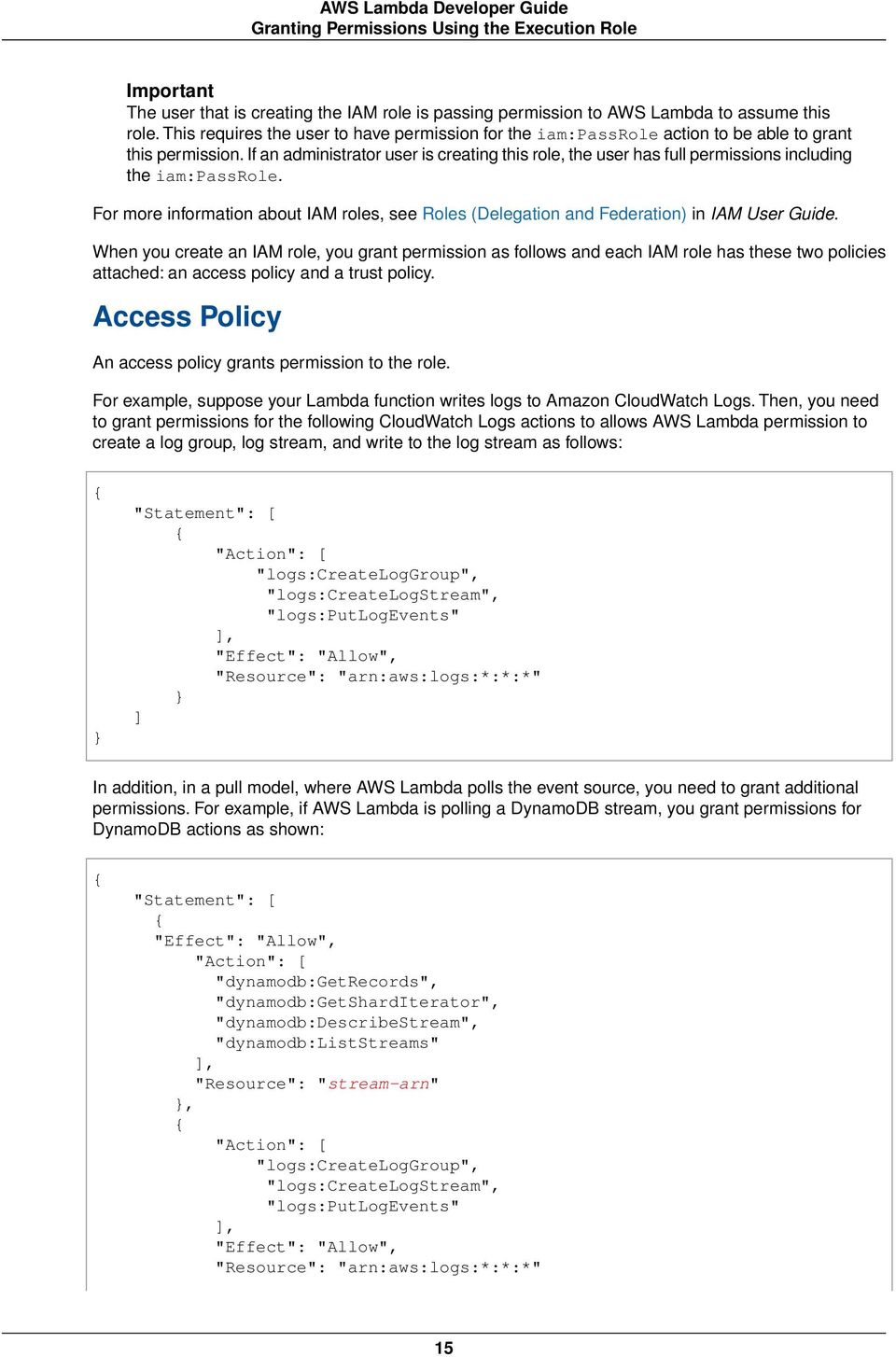 AWS Lambda  Developer Guide - PDF