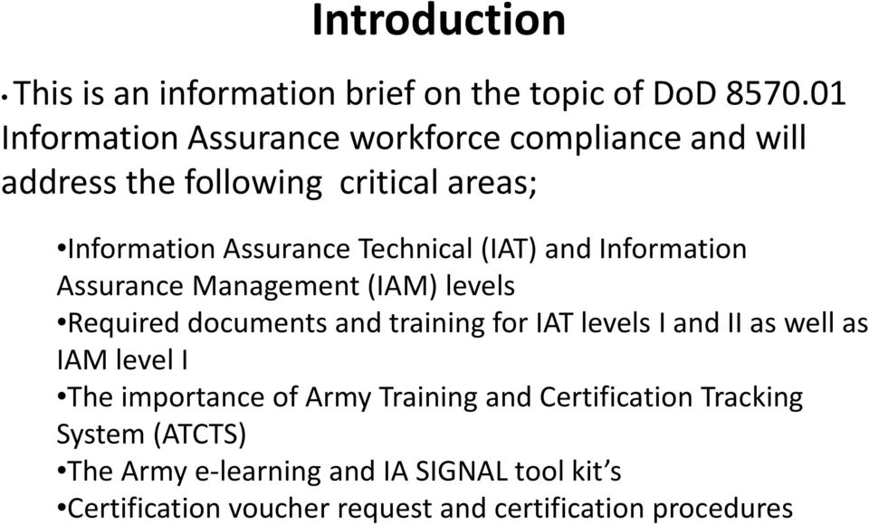 What Is Dod Ia Workforce Compliance Pdf