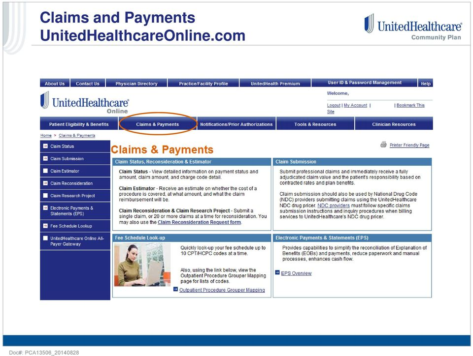Overview of Billing Guidelines and Other Helpful Resources - PDF