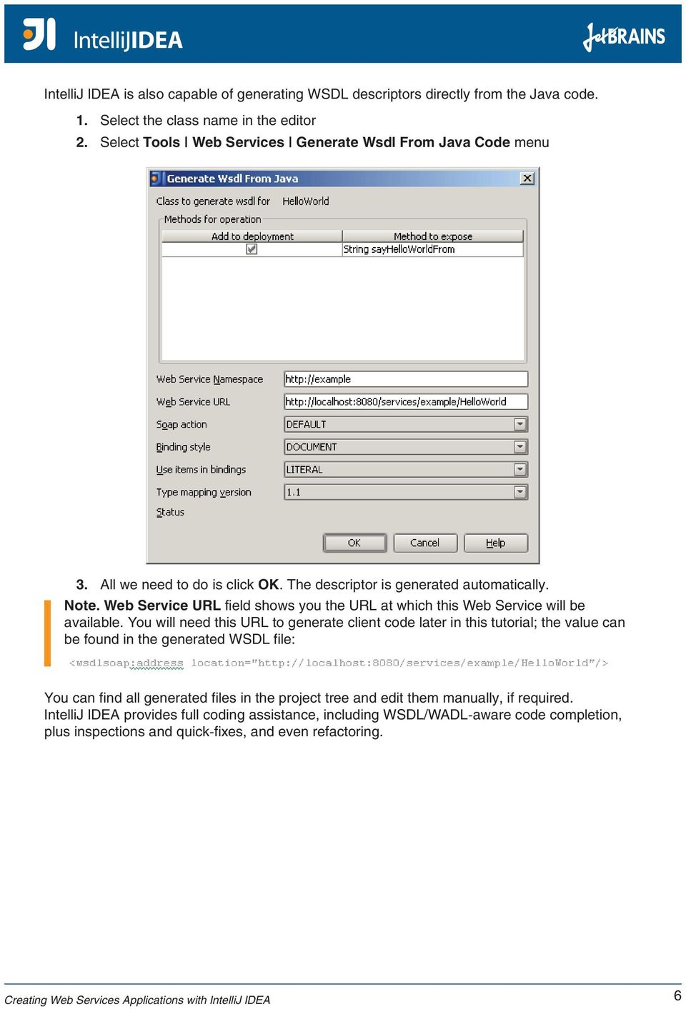 Generate Wsdl From Url Online