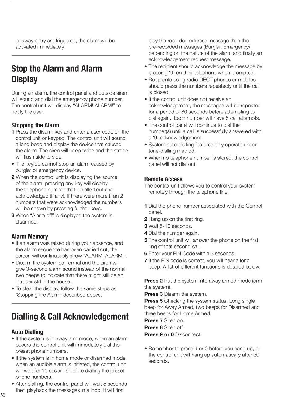 Easy Fit Touch Screen alarm system (EF-Panel) - PDF