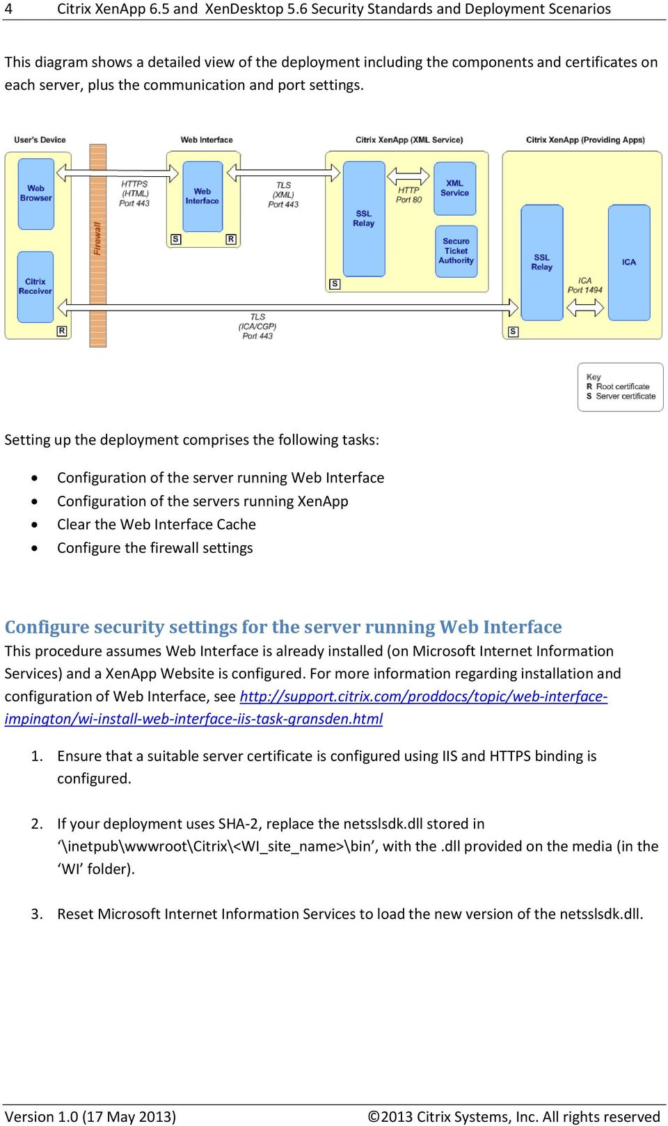 Citrix XenApp 6 5 and XenDesktop 5 6 Security Standards and