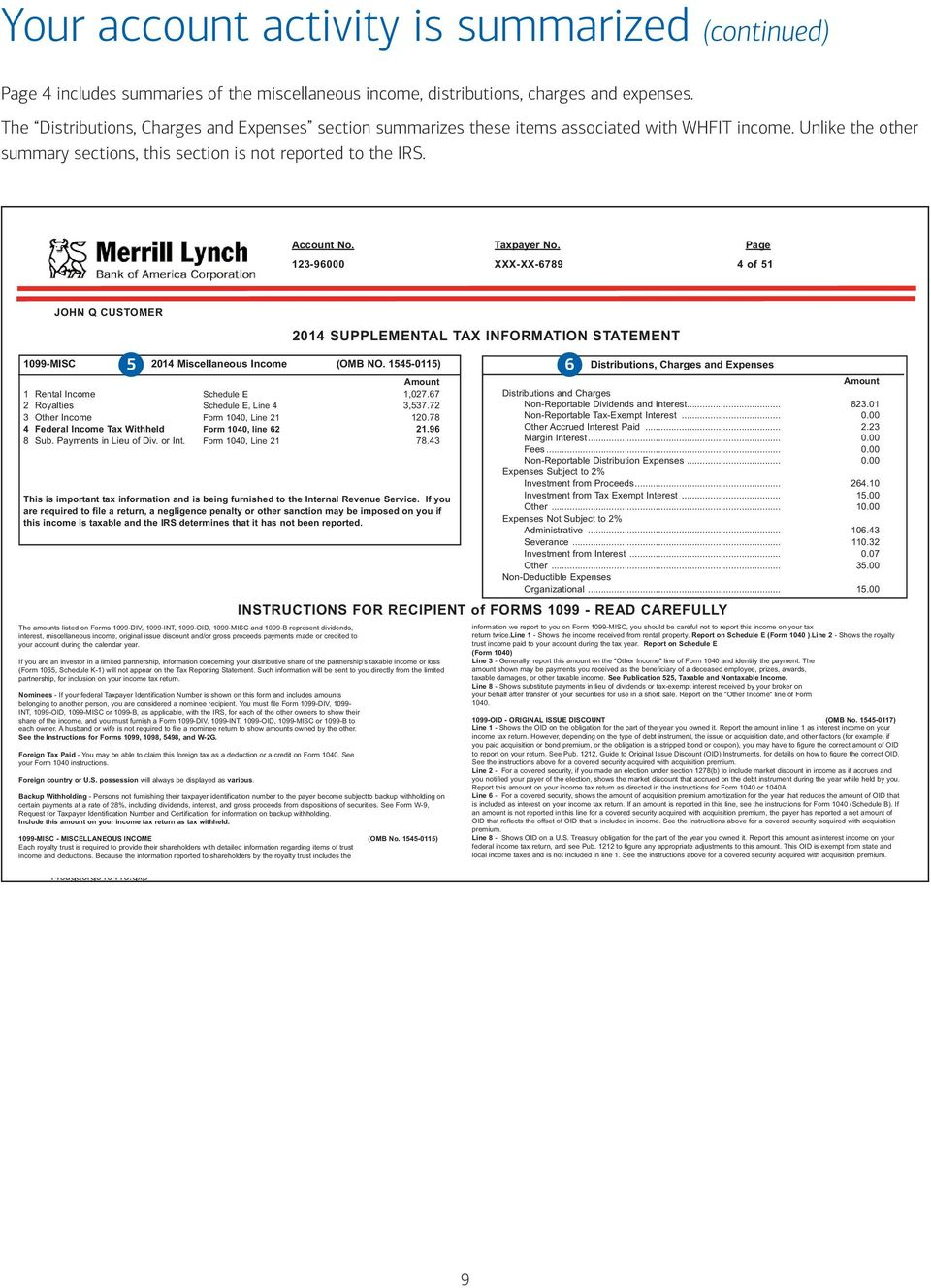 Get The Most From Your Merrill Lynch Supplemental Tax Information