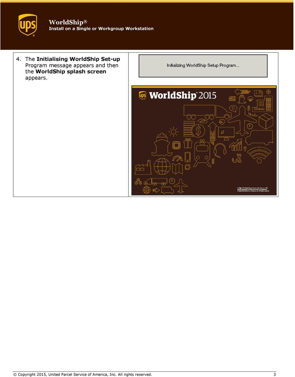 WorldShip Install on a Single or Workgroup Workstation - PDF