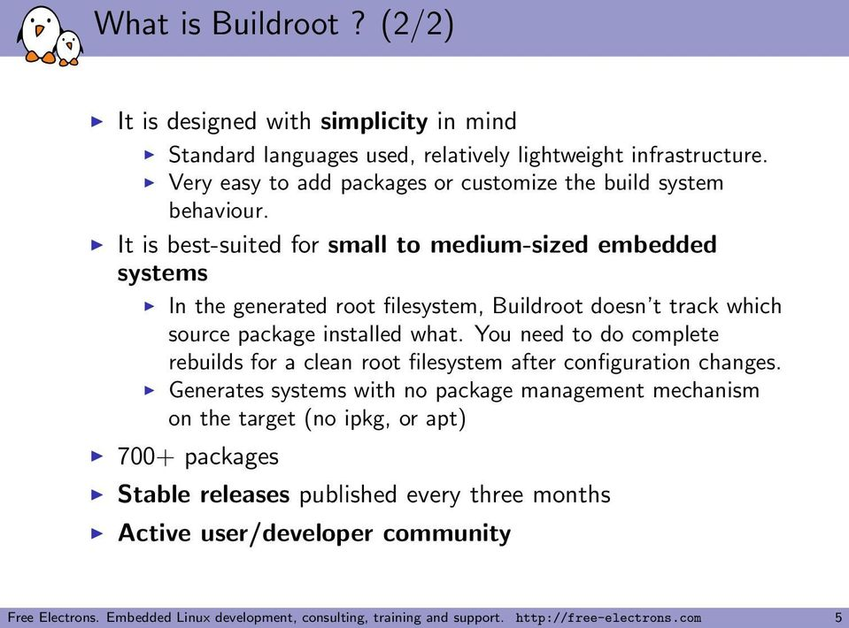Using Buildroot for real projects - PDF