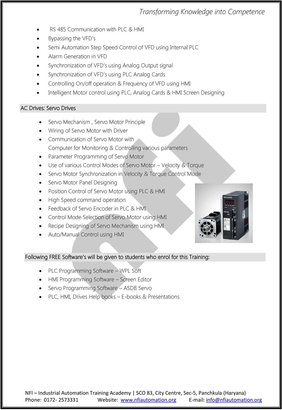 industrial automation training academy  plc  hmi  u0026 drives training programs duration  6 months