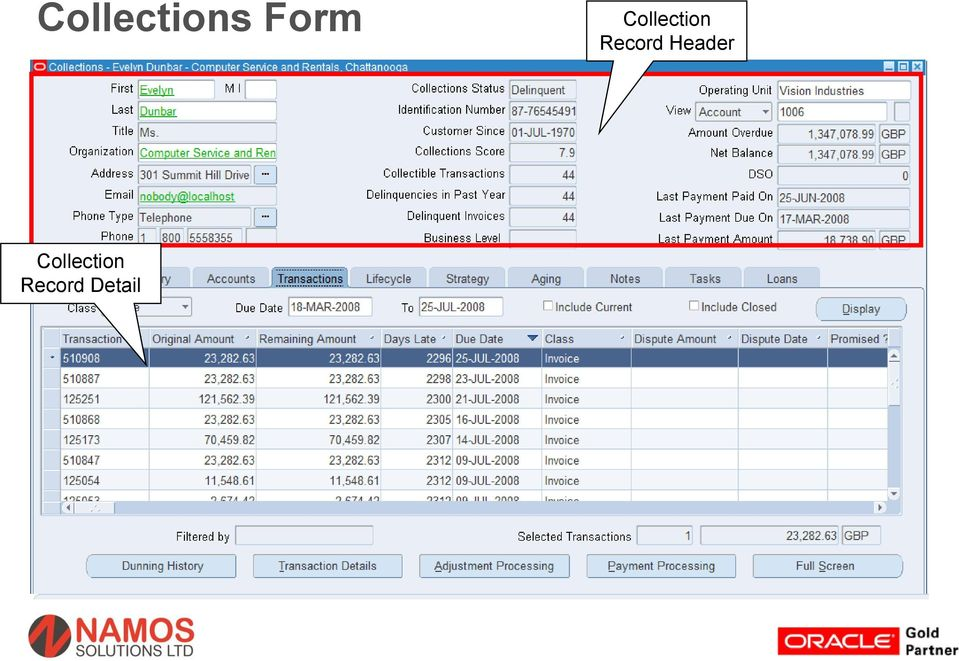 Oracle R12 Advanced Collections Overview  - PDF
