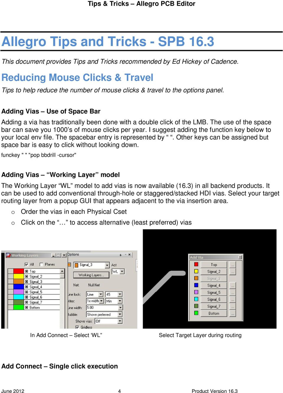 Tips & Tricks  Allegro PCB Editor  April Ed Hickey Product Engineer