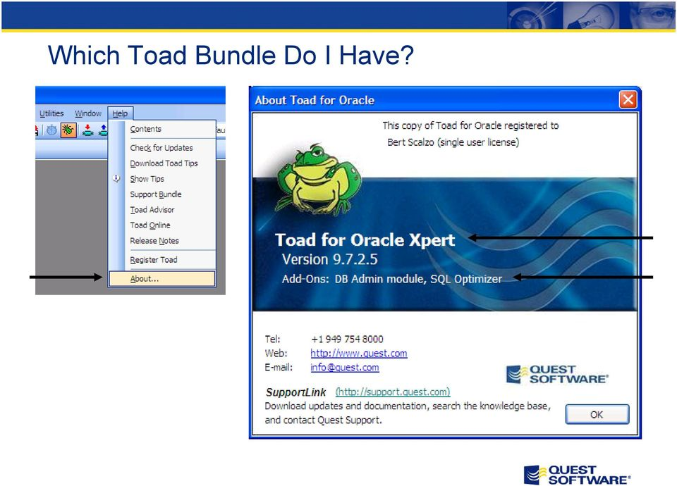toad for oracle инструкция на русском
