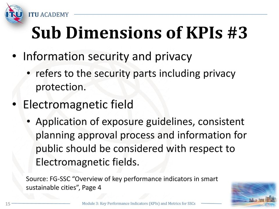 Key Performance Indicators (KPIs) and Standards for Smart