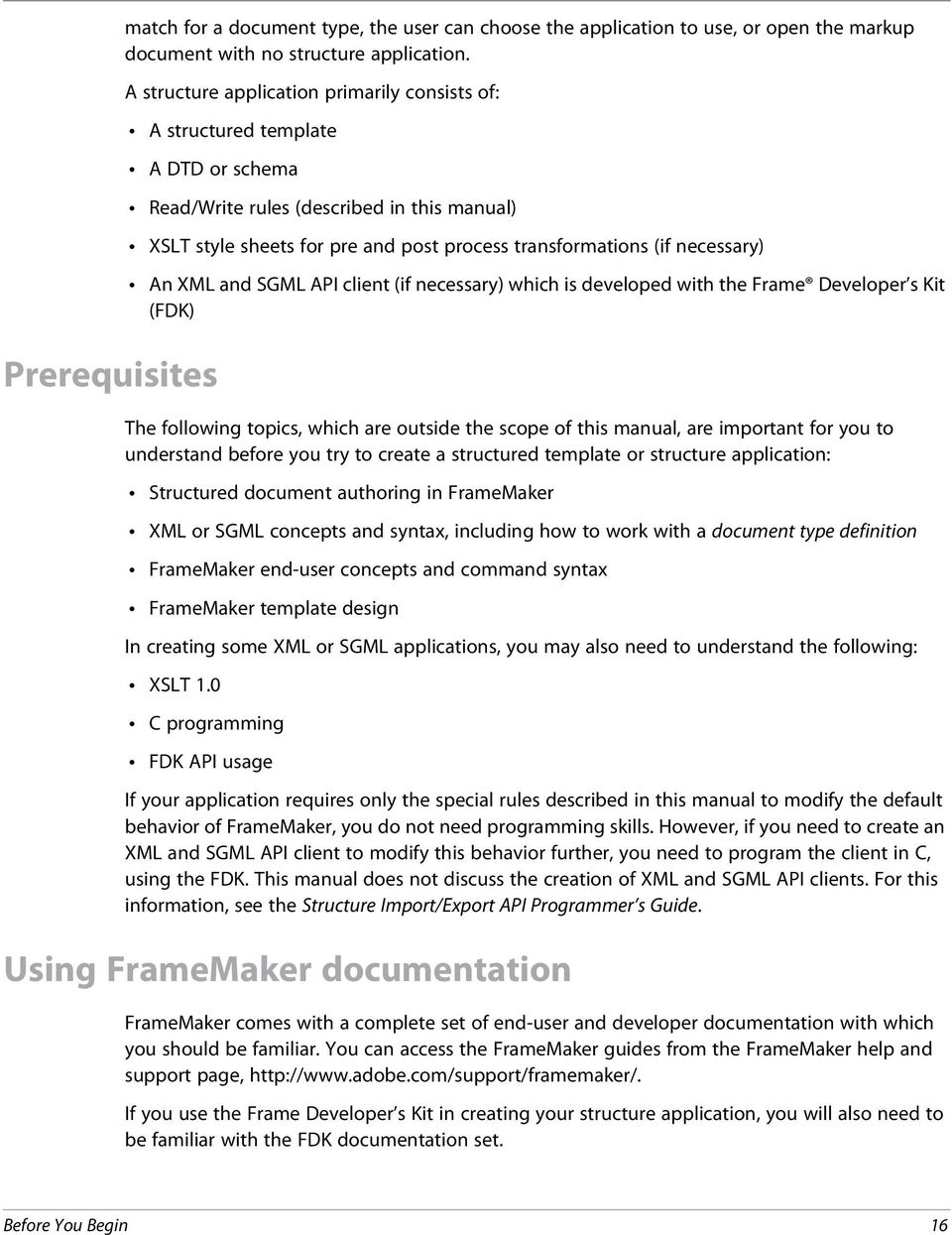 DEVELOPING STRUCTURED APPLICATIONS WITH ADOBE FRAMEMAKER 9 - PDF