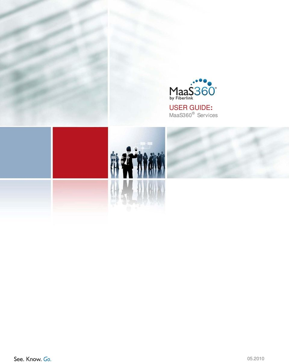USER GUIDE: MaaS360 Services - PDF