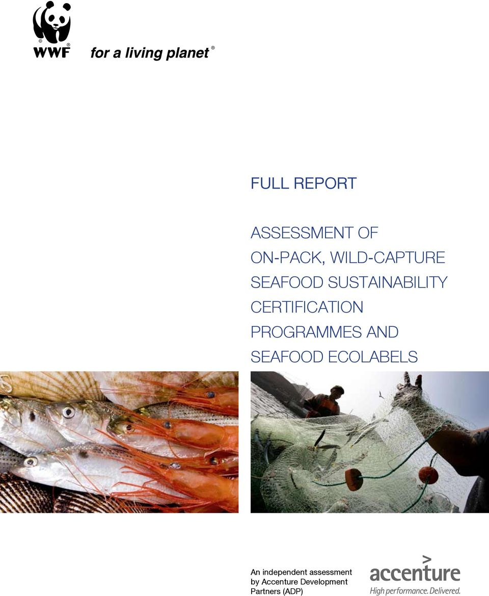 CERTIFICATION PROGRAMMES AND SEAFOOD