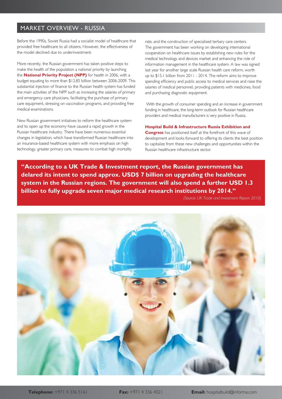 Snapshot Report on Russia s Healthcare Infrastructure Industry - PDF