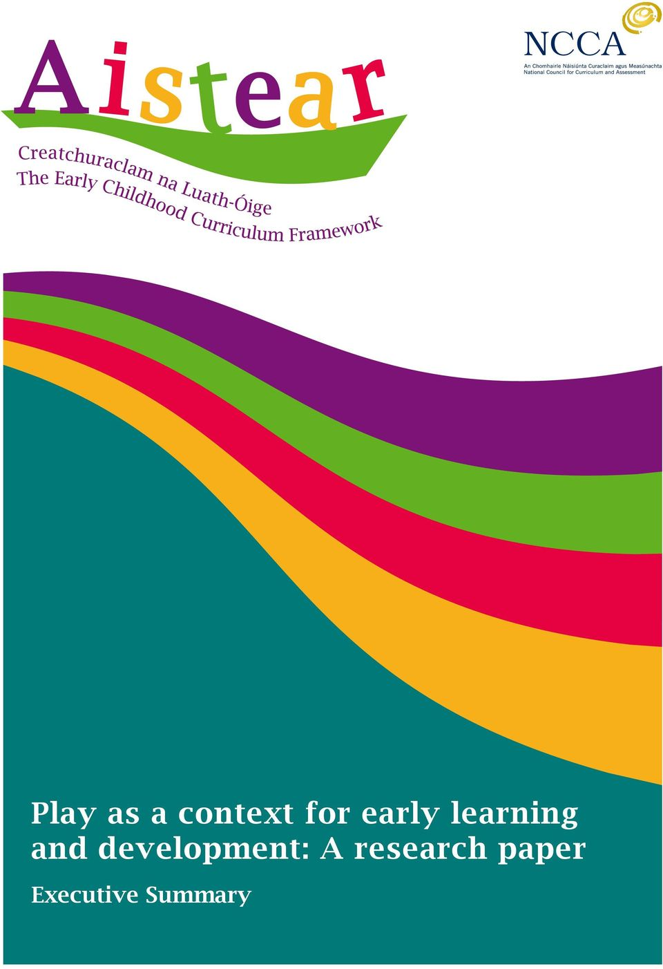 aistear research paper on play