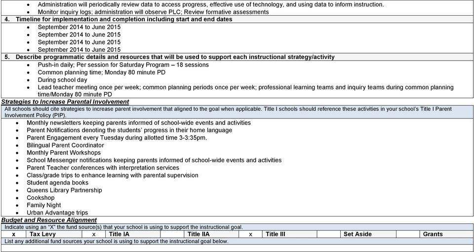 Title III Supplemental Program for ELLs for the and SY - PDF