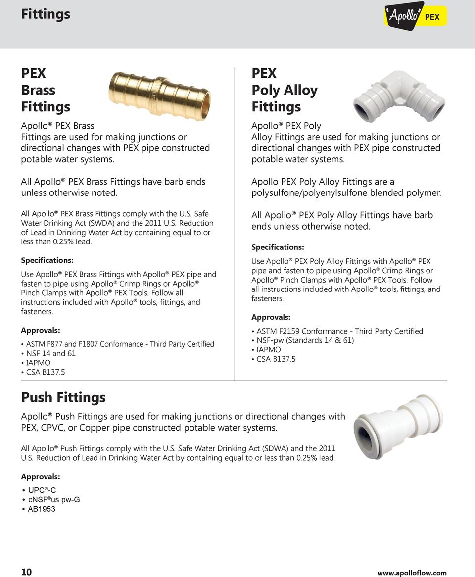 Pex Installation Manual Pdf For An Apollo Hydronic Air Handler That Has A Wiring Diagram The Specifications Use Brass Fittings With Pipe And