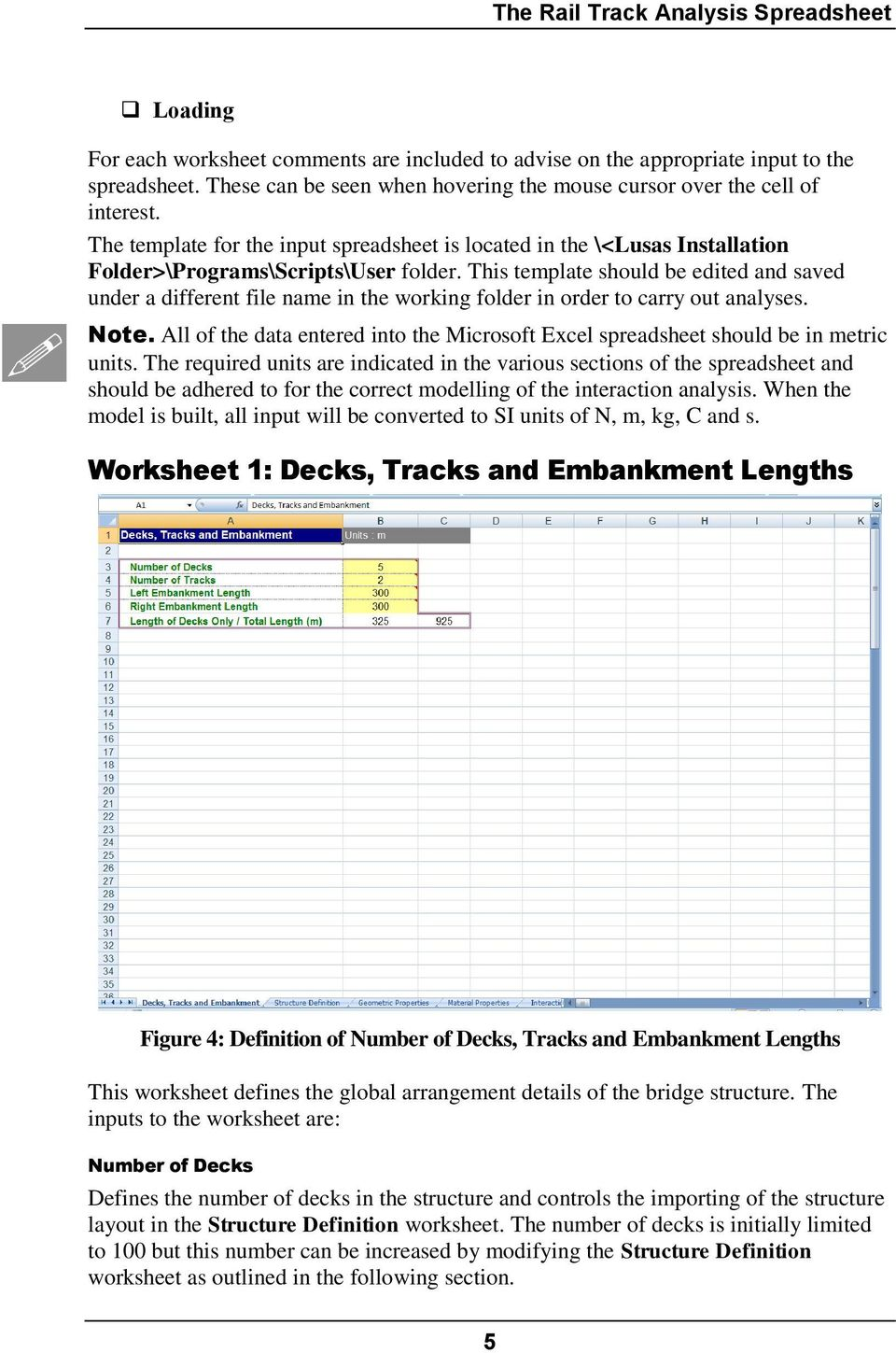 Rail Track Analysis User Manual  LUSAS Version 15 0 : Issue 1 - PDF