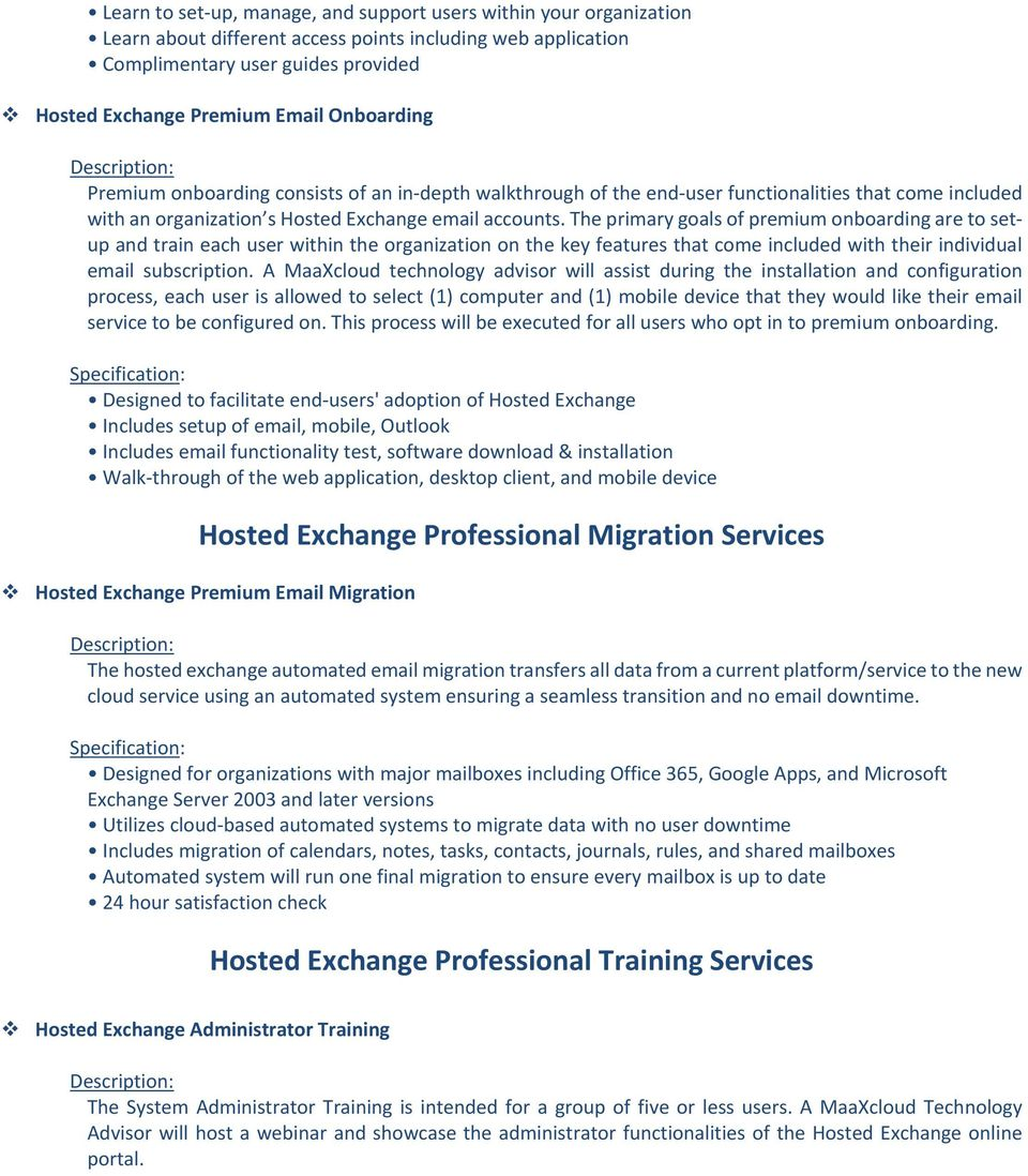 Office 365 Professional Onboarding Services - PDF