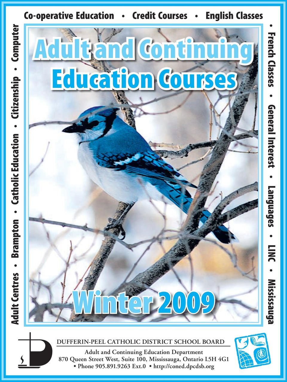 Winter Adult and Continuing Education Courses - PDF