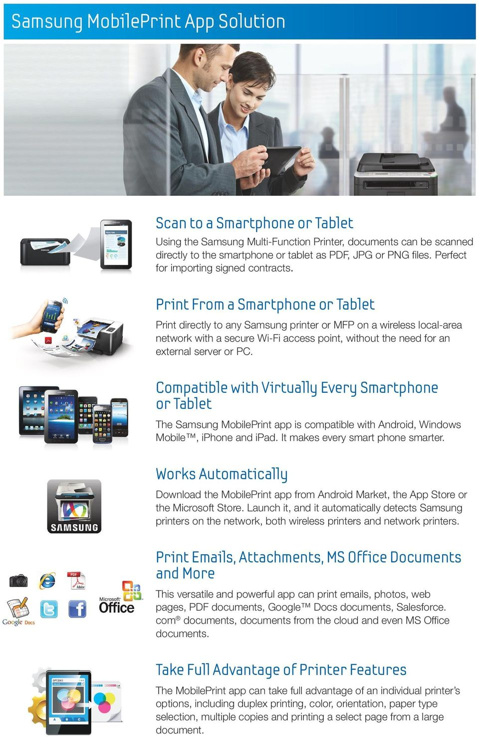 MPS/Solutions: Printer/MFP/Copier  For the way you do