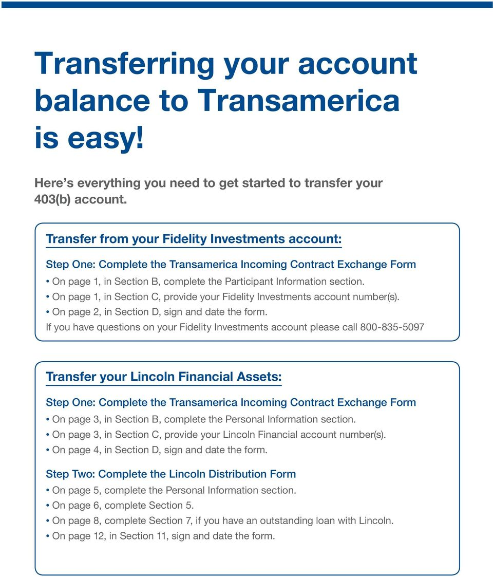 Asset Transfer Kit Everything You Need To Consolidate Your