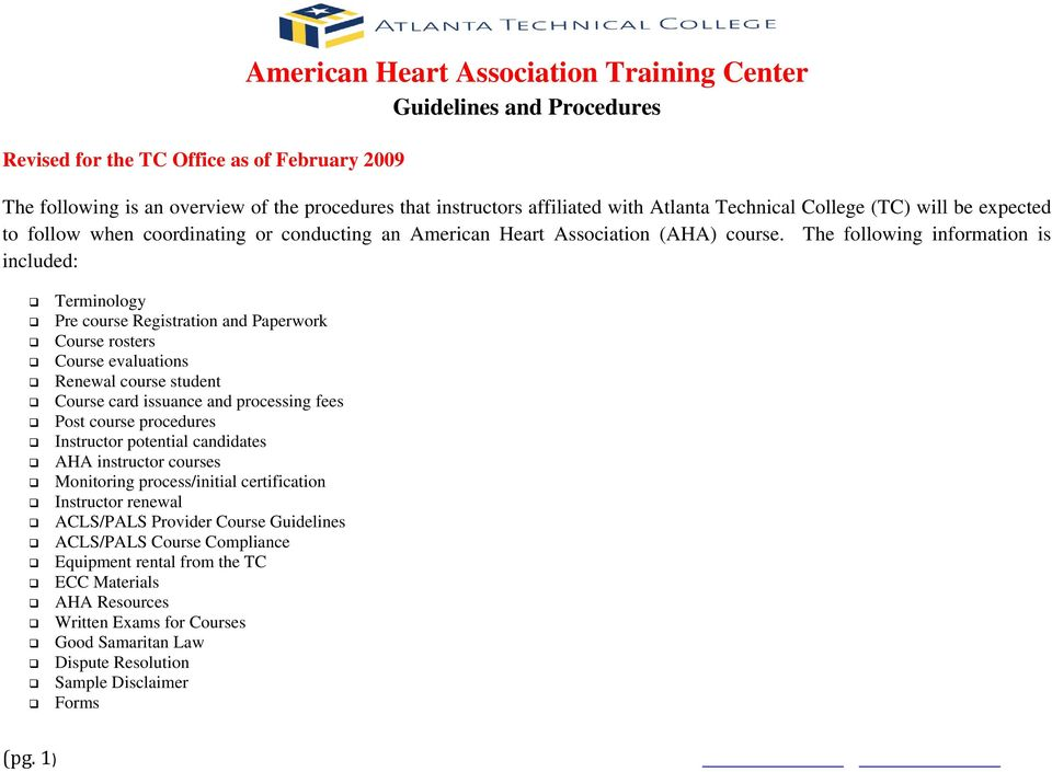 American Heart Association Training Center Pdf