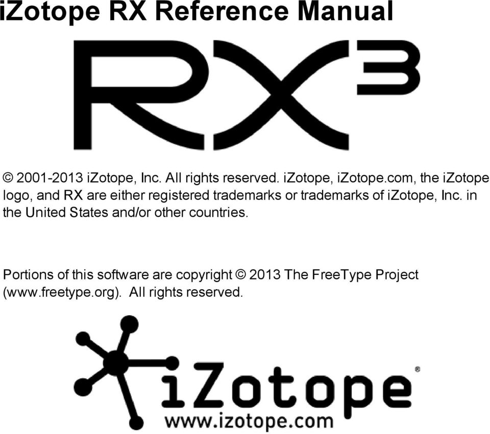 Izotope Rx Trial