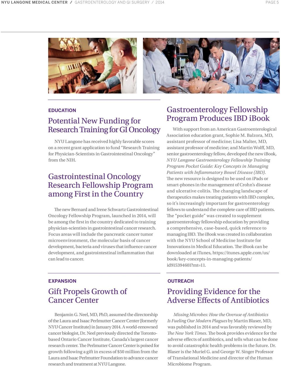 GASTROENTEROLOGY AND GI SURGERY 2014 YEAR IN REVIEW - PDF