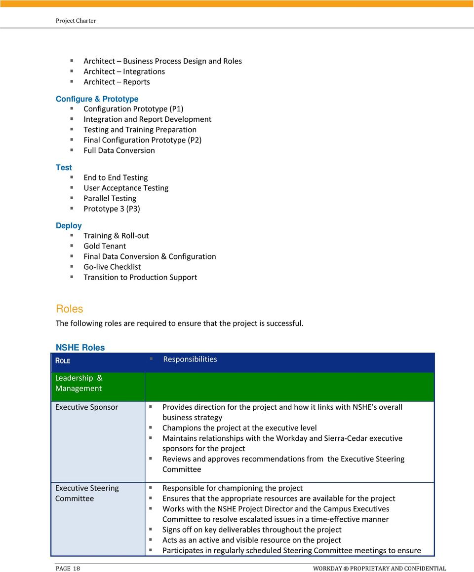 Project Charter  Nevada System of Higher Education - PDF
